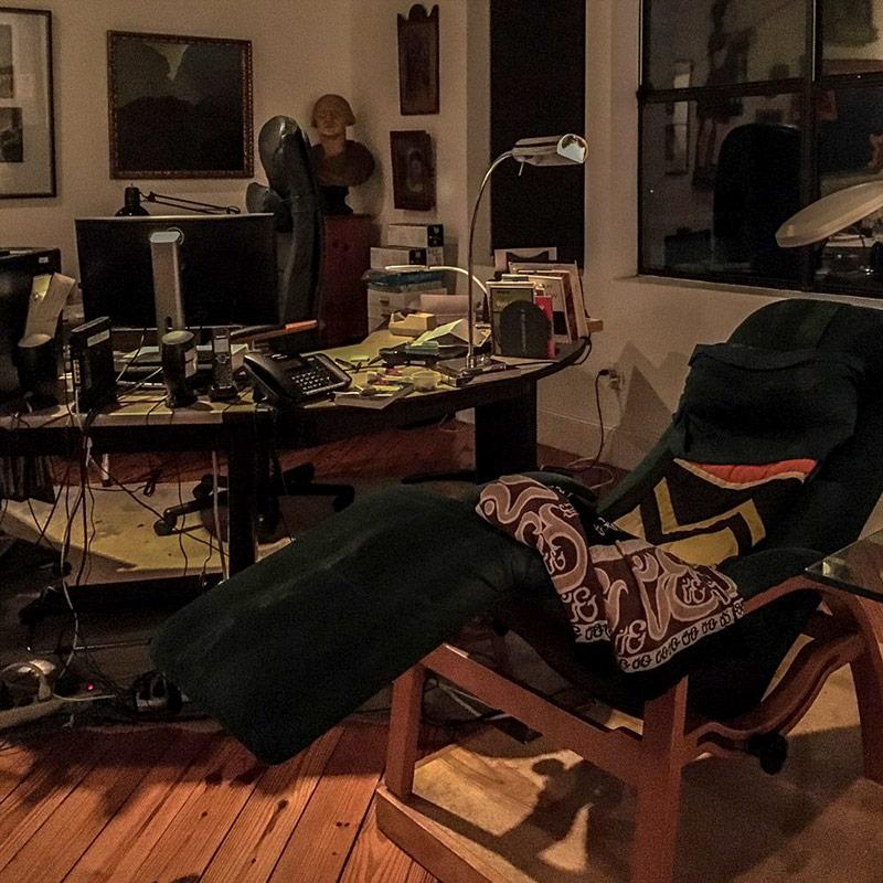 Daniel Quinn's office