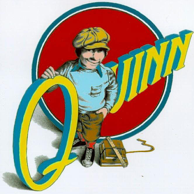 Logo created for Daniel Quinn while running the newspaper
