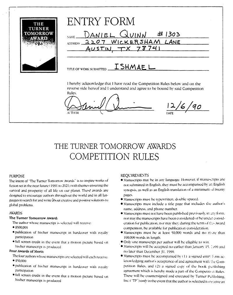 ted-turner-fellowship-award-daniel-quinn-ishmael-5